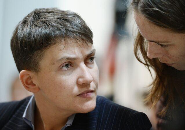Interrogatório da Nadezhda Savchenko no Tribunal de Kiev