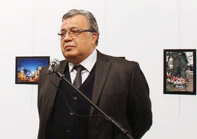 Embaixador russo para a Turquia, Andrei Karlov