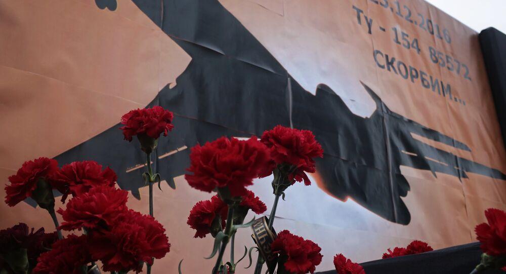 Dia de luto por vítimas do acidente aéreo de Tu-154 no mar Negro