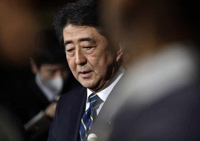 Shinzo Abe, primeiro ministro do Japão