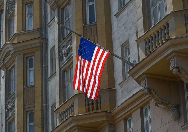 Prédio da Embaixada dos EUA em Moscou