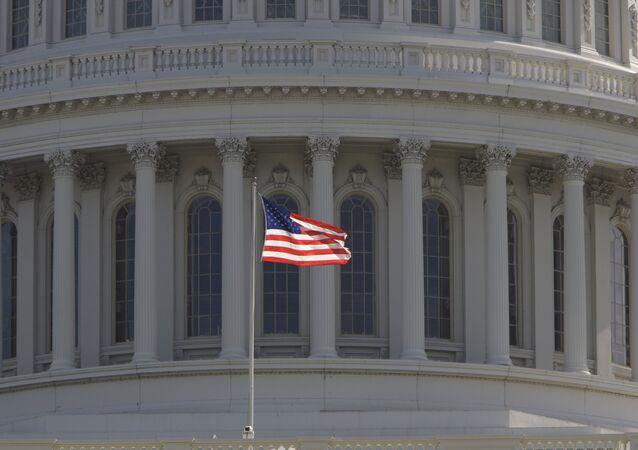 Prédio do Congresso norte-americano