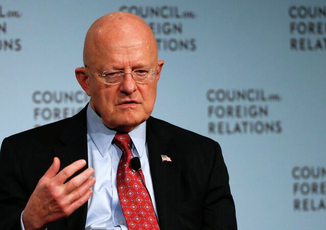 Director of U.S. National Intelligence James Clapper speaks at the Council on Foreign Relations in New York March 2, 2015