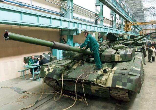 Tanques ucranianos Oplot para serem fornecidos à Tailândia