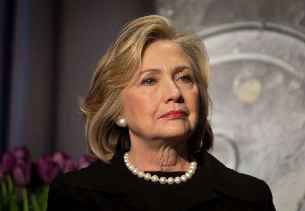 Hillary Clinton, a ex-secretária de Estado norte-americano