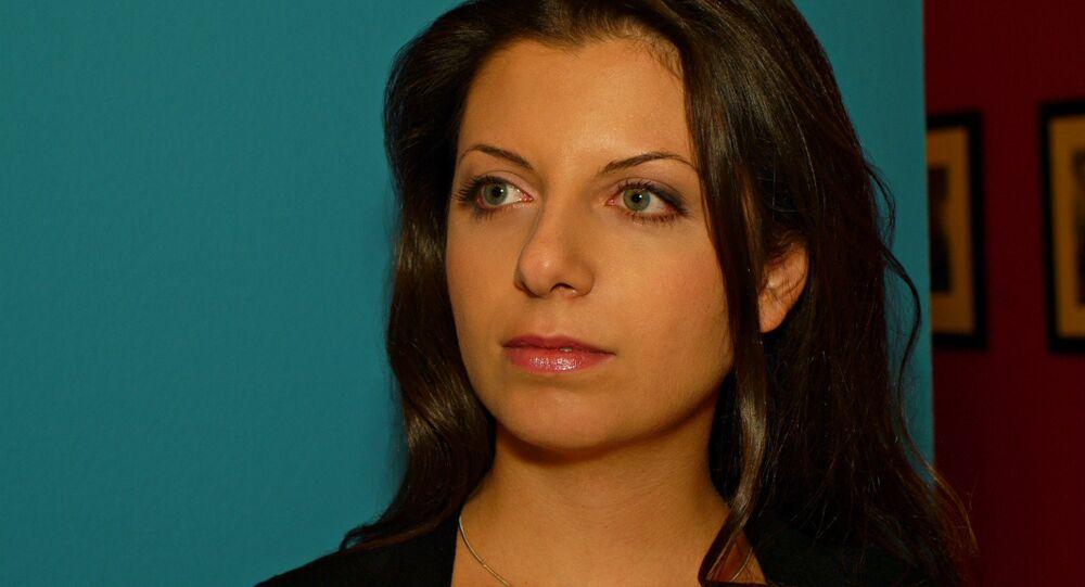 Margarita Simonyan, editora-chefe da Sputnik e do canal RT