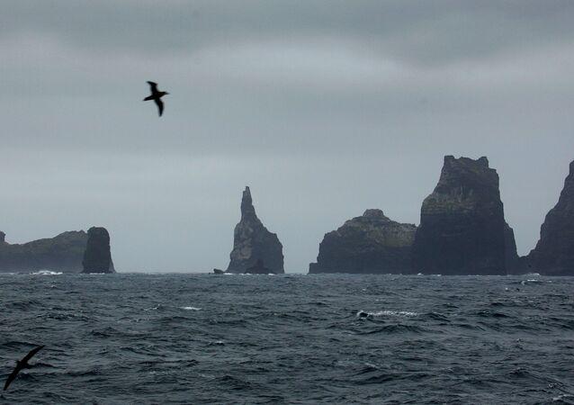 Ilhhas Crozet (Terras Austrais e Antárticas Francesas), foto de arquivo