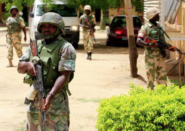 Soldados do Exército da Nigéria