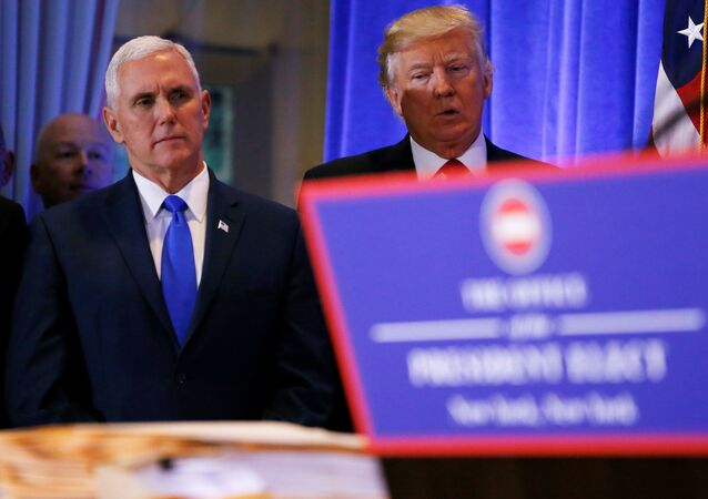 Donald Trump e Mike Pence