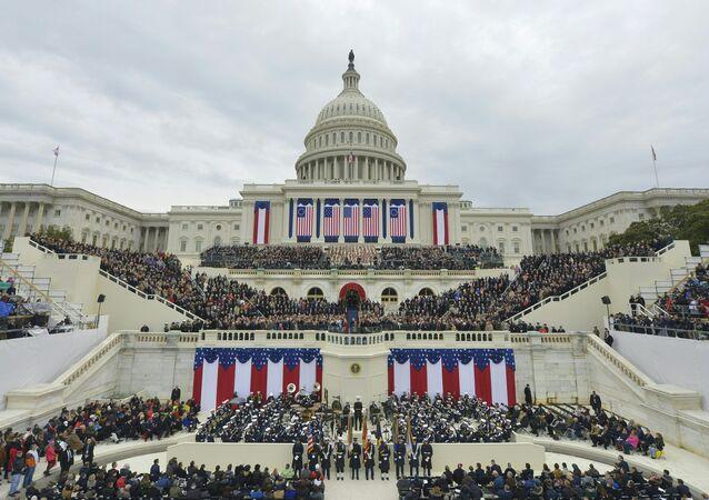 Vista do Capitólio, em Washington, Estados Unidos (arquivo)