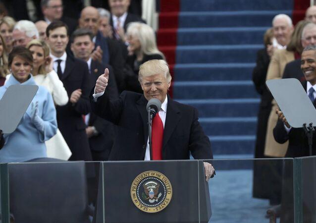Presidente dos EUA Donald Trump