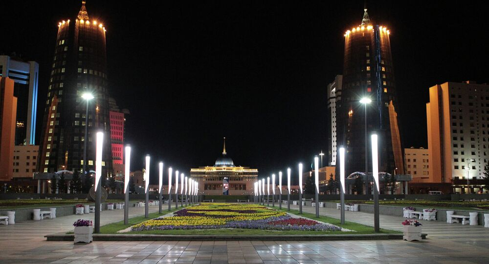Astana, capital do Cazaquistão