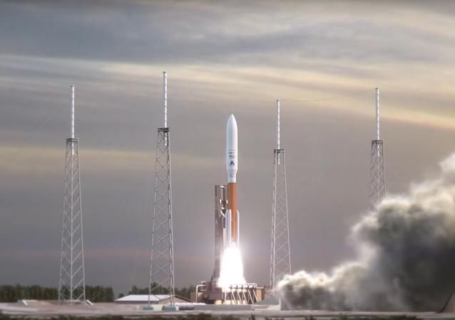 Modelo da nave espacial Dream Chaser (imagem referencial)