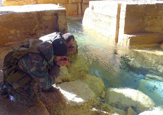 Água em Damasco