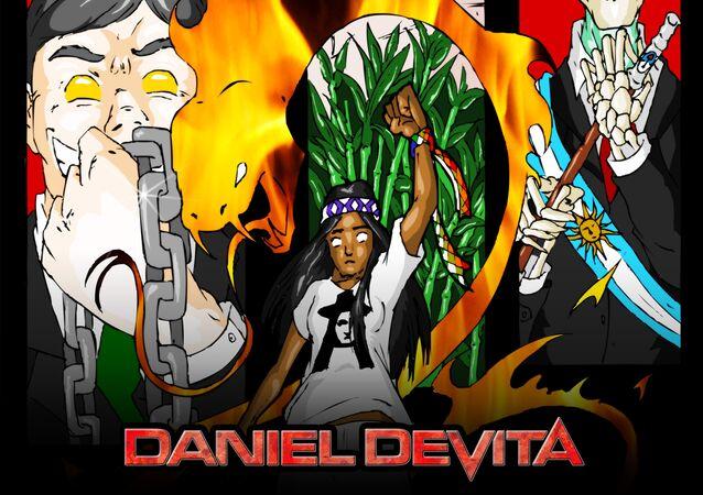 Capa do álbum Milagro, de Daniel Devita
