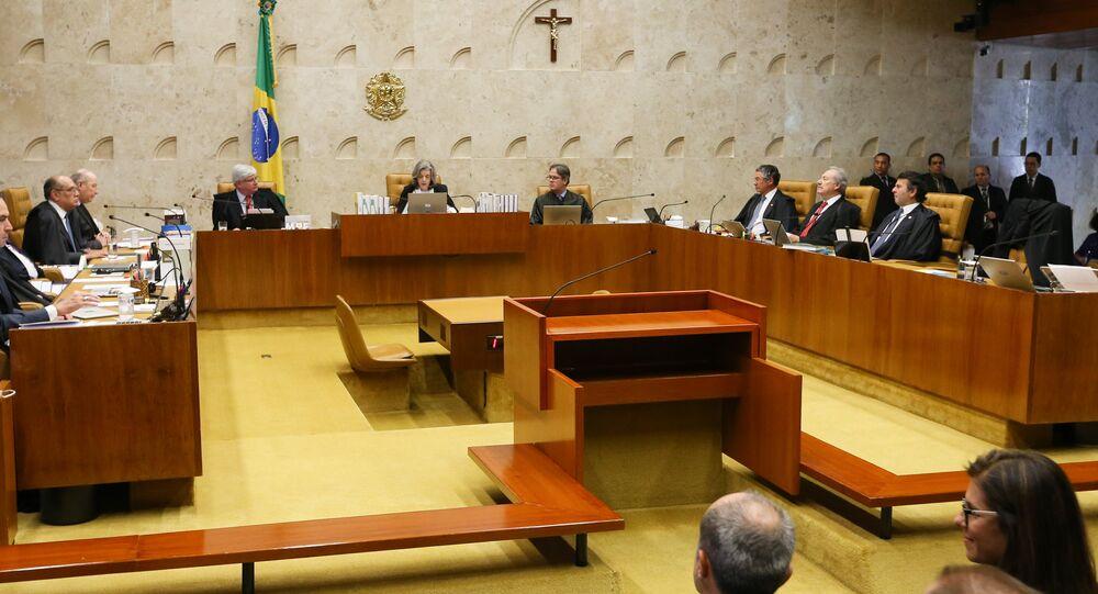 Sessão de abertura dos trabalhos do Supremo Federal Federal
