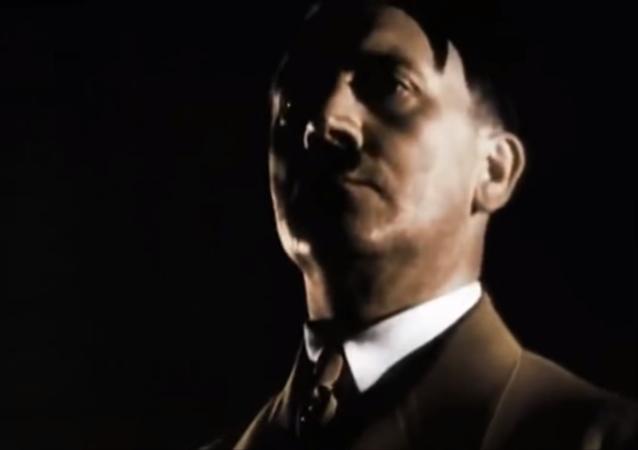 Adolf Hitler, chanceler do Reich líder da Alemanha nazista nas décadas de 1930 e 1940