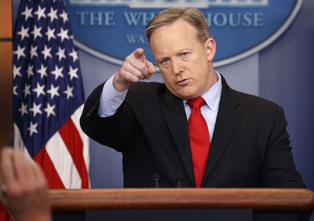 Sean Spicer, porta-voz da Casa Branca