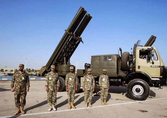Sistema de defesa aérea do Irã equipado com míssil Fajr-5
