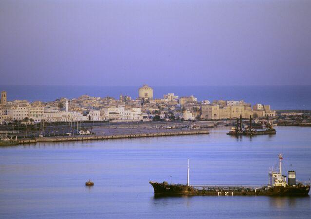 Trípoli, a cidade na Líbia