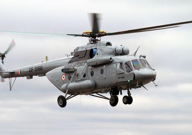 Mi-17V-5 da Força Aérea da Índia
