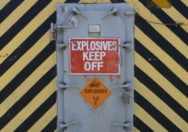 Armazém de explosivos