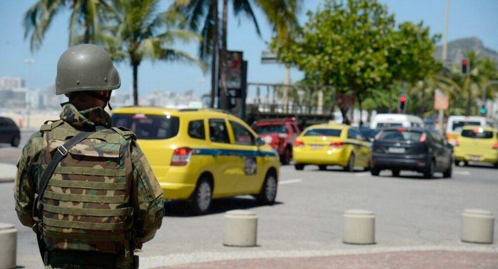 Na zona Sul do Rio, um dos principais pontos de desfiles de blocos e  passagem de turistas, não terá os militares na segurança durante o Carnaval