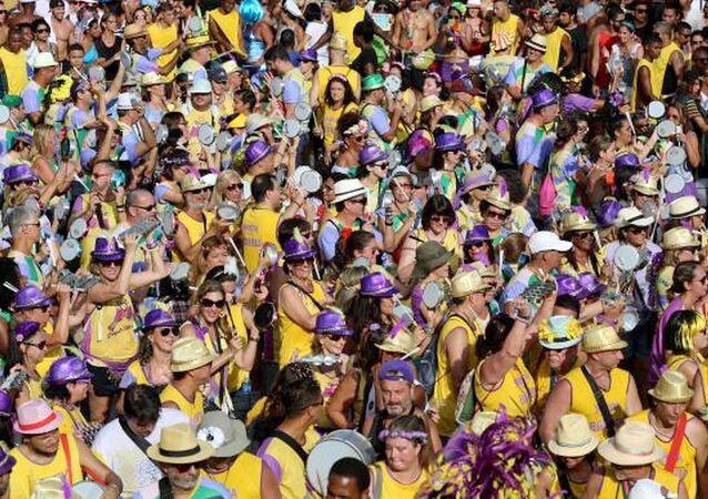 O Bloco Simpatia é Quase Amor , que integra a Sebastiana é um dos maiores do carnaval do Rio de Janeiro