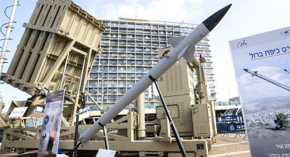 Sistema antiaéreo israelense conhecido como Cúpula de Ferro (imagem referencial)