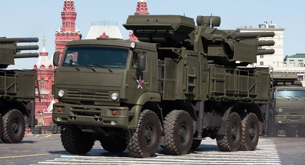 Sistema de defesa russo Pantsir S1