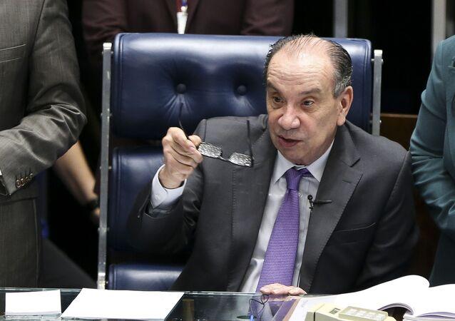 Ministro Aloysio Nunes, das Relações Exteriores