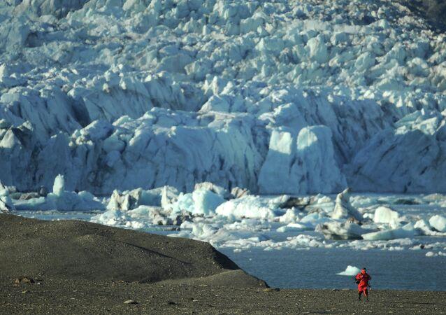 Parque nacional russo no Ártico