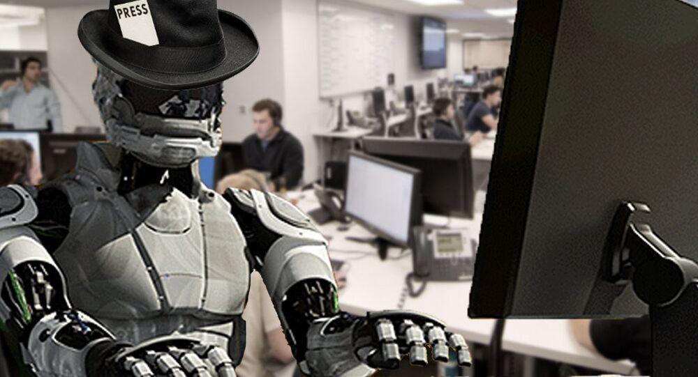 Será que robôs poderão ser jornalistas no futuro?