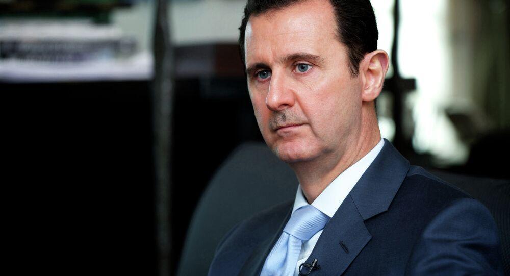 Presidente da Síria, Bashar al-Assad