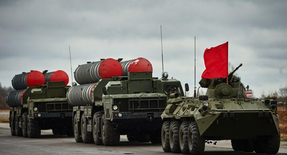 Um destacamento de S-300