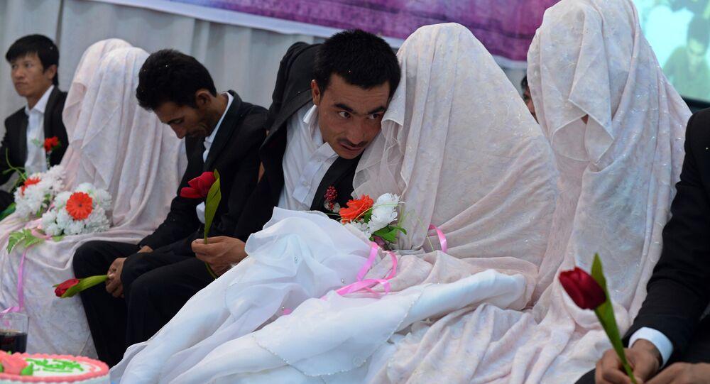 Casamento muçulmano no Afeganistão (Arquivo)