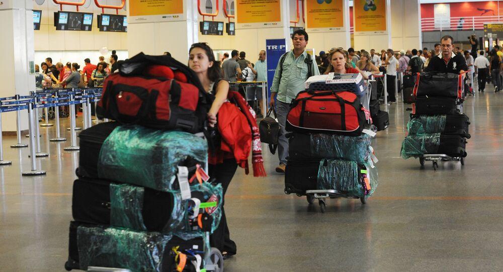 Cresce controle estrangeiro nos aeroportos do país