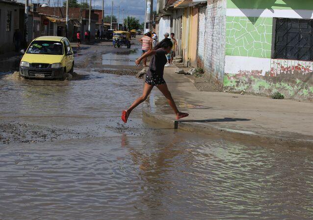 Inundações em Peru