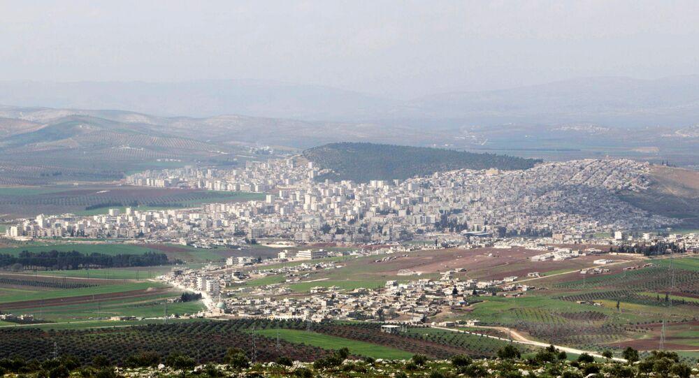 Afrin, uma das principais cidades curdas da Síria
