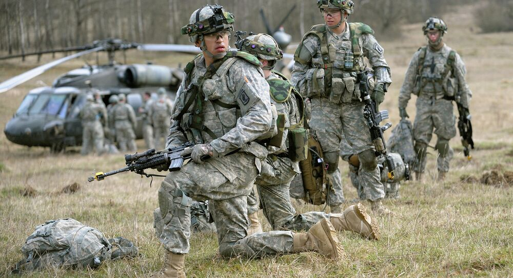 Fuzileiros navais dos EUA chegaram à Ucrânia para participar do treinamento das forças armadas
