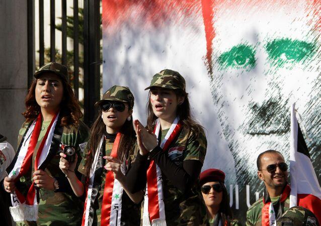 Bashar Assad, Damasco