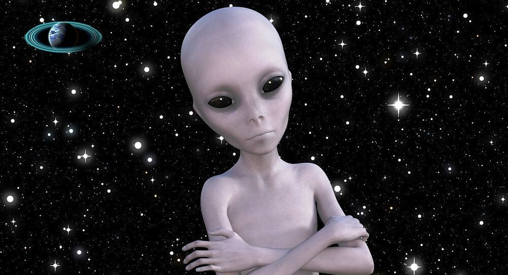 Extraterrestre - visão artística