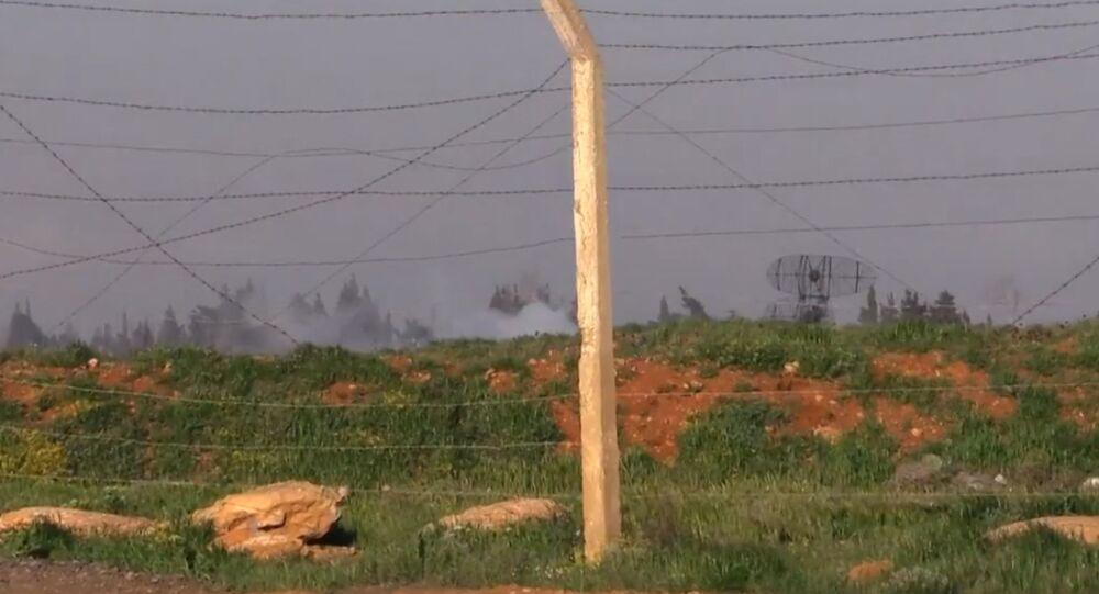 Imagens da base aérea de Shayrat após ataque
