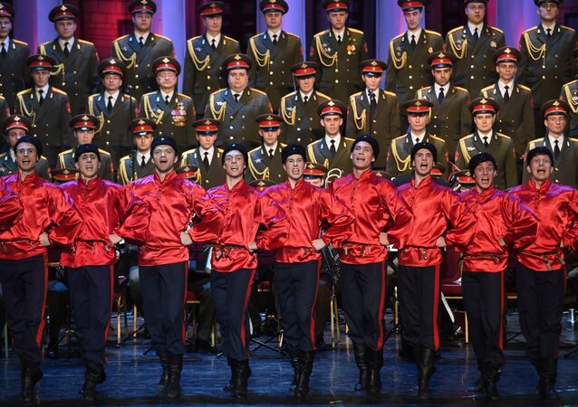New performers at Alexandrov Dance and Song Company