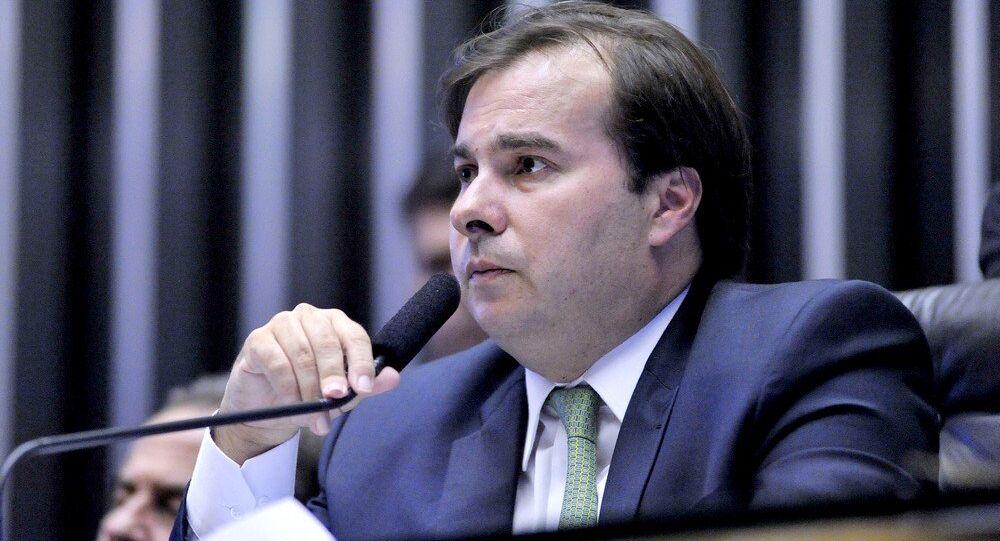 Após o vazamento da lista de Fachin, Rodrigo Maia encerrou sessão na Câmara