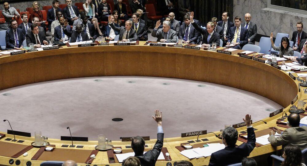 Votação dos membros do Conselho de Segurança da ONU