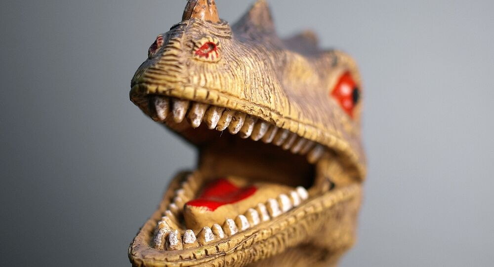 Dinossauro (foto de arquivo)