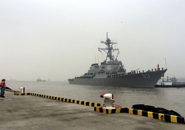 Destróier norte-americano USS Stethem (arquivo)