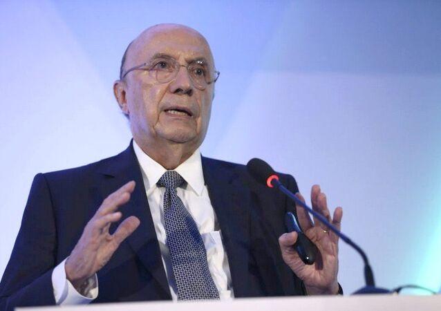Ministro da Fazenda, Henrique Meirelles, participa do seminário Os caminhos para a reforma da Previdência