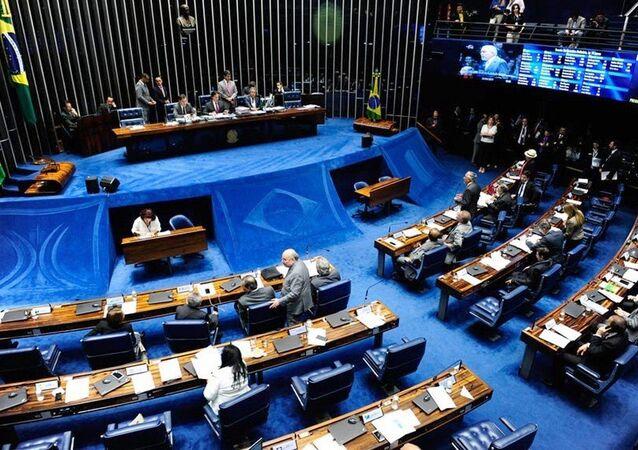 Sessão de votação no Senado (foto de arquivo)